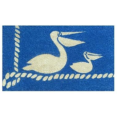 Home & More Pelicans Doormat
