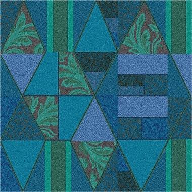Milliken Pastiche Valencia Cabana Blue Area Rug; Rectangle 3'10'' x 5'4''
