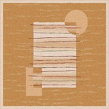 Milliken Pastiche Horizon Sand Rug; Round 7'7''