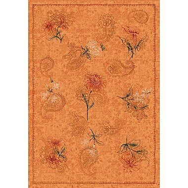 Milliken Pastiche Vintage Flaxen Orange Area Rug; Rectangle 7'8'' x 10'9''