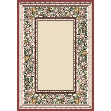 Milliken Innovation Opal English Floral Area Rug; Rectangle 2'8'' x 3'10''
