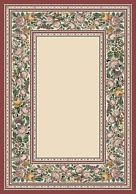 Milliken Innovation Opal English Floral Area Rug; Oval 3'10'' x 5'4''