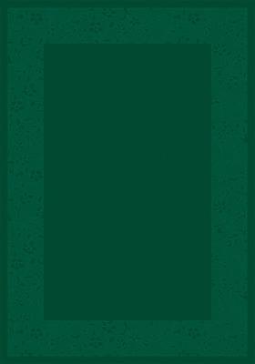 Milliken Design Center Emerald Brocade Area Rug; Runner 2'4'' x 11'8''