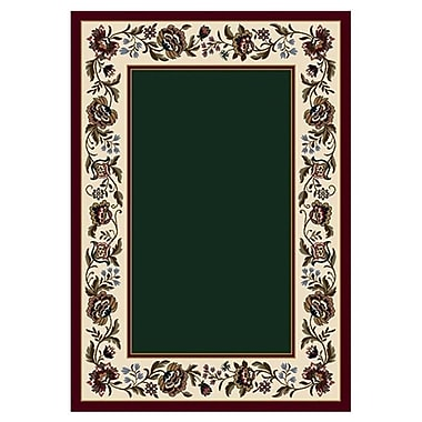 Milliken Signature Penelope Emerald Area Rug; Rectangle 3'10'' x 5'4''