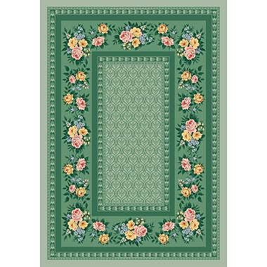 Milliken Pastiche Kerri Cool Celery Green Area Rug; Rectangle 2'8'' x 3'10''