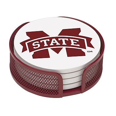 Thirstystone 5 Piece Mississippi State University Collegiate Coaster Gift Set