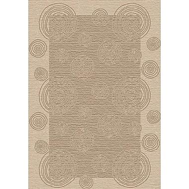 Milliken Innovation Wabi Pearl Mist Area Rug; Oval 5'4'' x 7'8''