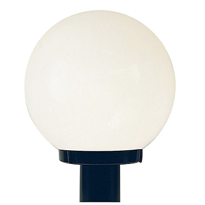 Sunset Lighting Globe Outdoor 1-Light Lantern Head; 12'' H x 12'' W x 12'' D
