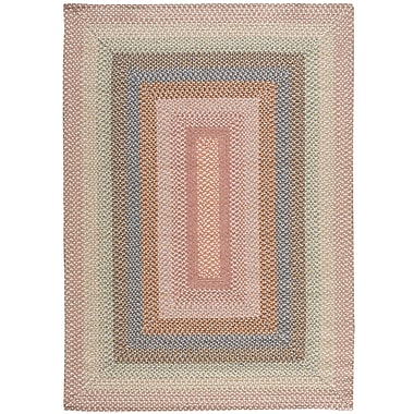 Nourison Craftwork Hand-Woven Coral Area Rug; Runner 2'3'' x 7'