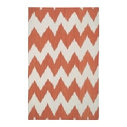 Genevieve Gorder Rugs Insignia Orange Area Rug; Rectangle 5' x 8'