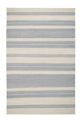 Genevieve Gorder Rugs Jagges Oslo Gray Outdoor Area Rug; Rectangle 8' x 11'