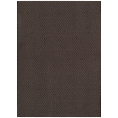 Garland Rug Chocolate Town Square Indoor/Outdoor Area Rug; 7'6'' x 9'6''