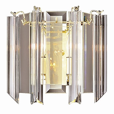 TransGlobe Lighting Back to Basics 2-Light Wall Sconce