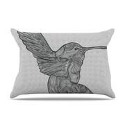 KESS InHouse Hummingbird Pillowcase; King