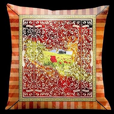 Lama Kasso Como Gardens Microsuede Throw Pillow