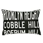 Uptown Artworks Brooklyn Heights Lumbar Pillow