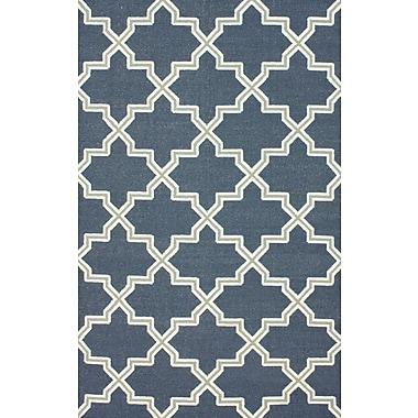 nuLOOM Moderna Blue Sloane Rug; 5' x 8'