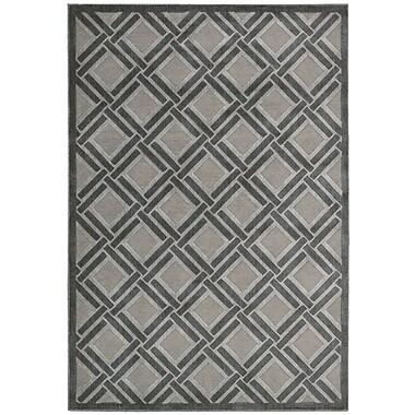 Nourison Illusions Gray Area Rug; 7'9'' x 10'10''