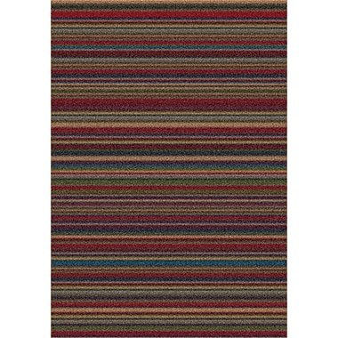 Milliken Modern Times Canyon Deep Olive Area Rug; Rectangle 5'4'' x 7'8''
