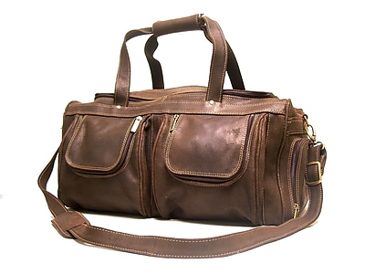 Le Donne Leather 21'' Distressed Leather Travel Duffel