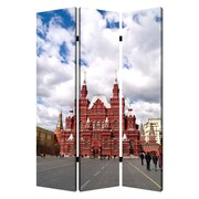 Screen Gems 72'' x 48'' Russia 3 Panel Room Divider