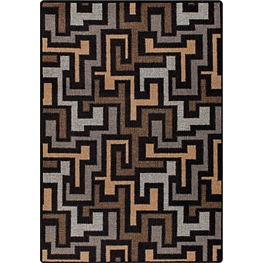 Milliken Mix and Mingle Black Label Junctions Rug; Rectangle 2'8'' x 3'10''