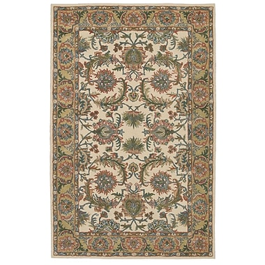 Nourison India House Brown/Beige Area Rug; 3'6'' x 5'6''
