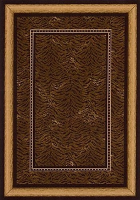Milliken Innovation Onyx Chongwe Area Rug; Rectangle 7'8'' x 10'9''