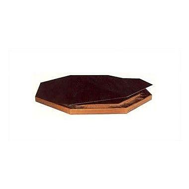 Kestell Furniture 52'' Deluxe Vinyl Folding Service Table Tops; Red Vinyl