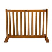 Dynamic Accents Amish Handcrafted Short Kensington 1 Panel Free Standing Gate; Small