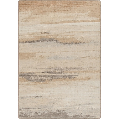 Milliken Mix and Mingle Hand-Tufted Brown/Tan Area Rug; Rectangle 2'8'' x 3'10''