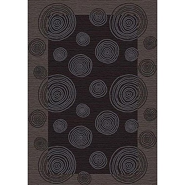 Milliken Innovation Pewter Wabi Area Rug; Rectangle 2'1'' x 7'8''