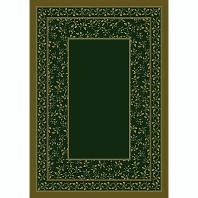 Milliken Design Center Olive Leander Area Rug; Runner 2'4'' x 11'8''