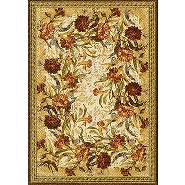 Milliken Pastiche Barrington Court Cocoa Rug; Oval 3'10'' x 5'4''