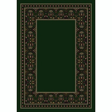 Milliken Design Center Emerald Turkoman Area Rug; Rectangle 7'8'' x 10'9''