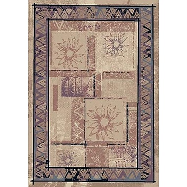 Milliken Innovation Rose Sandstone Soleil Area Rug; Oval 3'10'' x 5'4''