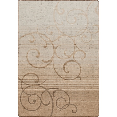 Milliken Mix and Mingle Clay Whispering Wind Rug; Runner 2'1'' x 7'8''