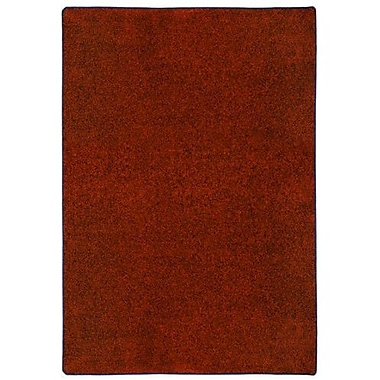 Milliken Modern Times Harmony Tapestry Red Area Rug; Rectangle 7'8'' x 10'9''