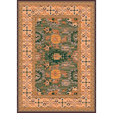 Milliken Pastiche Karshi Autumn Forest Rug; Rectangle 5'4'' x 7'8''