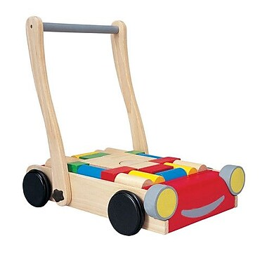 Plan Toys Preschool Baby Push/Scoot Ride-On