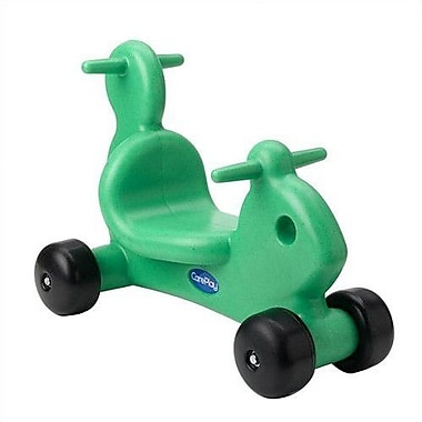 CarePlay Squirrel Push/Scoot Ride-On; Green
