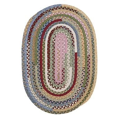 Colonial Mills Market Mix Oval Keepsake Area Rug; Oval Runner 2' x 10'
