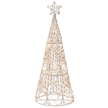 Brite Star 175 Light 3D Cone Tree Sculpture Christmas Decoration