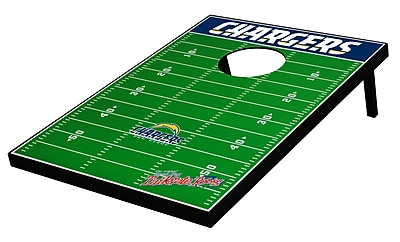 Tailgate Toss NFL Football Cornhole Set; San Diego Chargers WYF078275797155