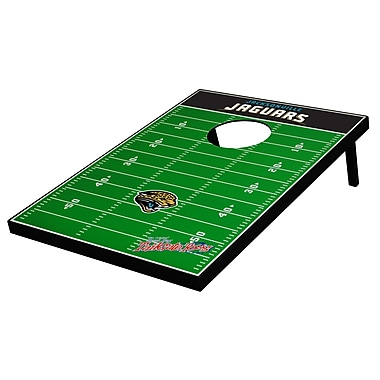 Tailgate Toss NFL Football Cornhole Set; Jacksonville Jaguars