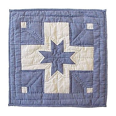 Patch Magic Feathered Star Cotton Throw Pillow