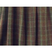 Wooded River Cabin Bear Gathered Bed Skirt; Twin