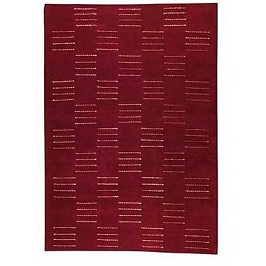 Hokku Designs Cyprus Red Rug; Rectangle 4'6'' x 6'6''