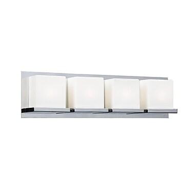 PLC Lighting Furlux 4-Light Bath Bar