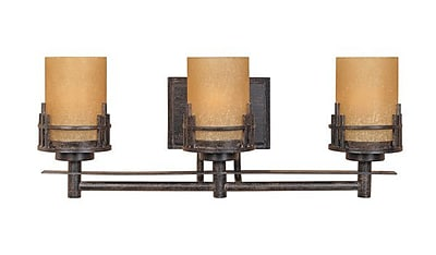 Designers Fountain Mission Ridge 3-Light Vanity Light